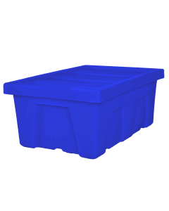 "Myton 38.5"" x 26"" x 16"" Smooth Wall Container Medium Duty Blue"