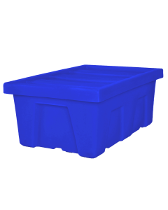 "Myton 38.5"" x 26"" x 16"" Smooth Wall Container Heavy Duty Blue"