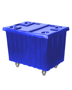 "Myton 40.5"" x 28"" x 3"" Lid for MTE series Truck Blue"