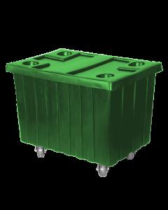 "Myton 40.5"" x 28"" x 3"" Lid for MTE series Truck Green"