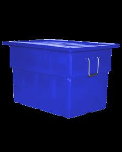 "Myton 38"" x 25.5"" x 3"" Lid for MTF series Truck Blue"