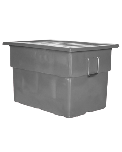 "Myton 38"" x 25.5"" x 3"" Lid for MTF Series Truck Gray"
