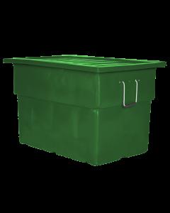 "Myton 38"" x 25.5"" x 3"" Lid for MTF Series Truck Green"
