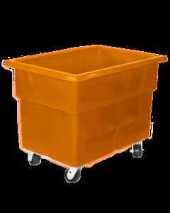 """Myton 38"""" x 25.5"""" x 29"""" Smooth Wall Utility Truck Heavy Duty Orange"""