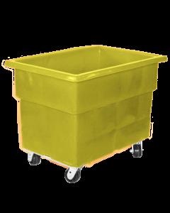 "Myton 38"" x 25.5"" x 29"" Smooth Wall Utility Truck Heavy Duty Yellow"