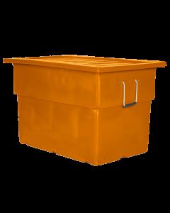 "Myton 38"" x 25.5"" x 3"" Lid for MTF Series Truck Orange"