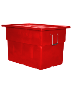 """Myton 38"""" x 25.5"""" x 3"""" Lid for MTF Series Truck Red"""