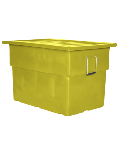 "Myton 38"" x 25.5"" x 3"" Lid for MTF Series Truck Yellow"
