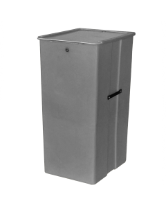 "Myton 23.5"" x 20"" x 41"" Smooth Wall Container Heavy Duty Gray"