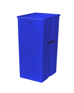 "Myton 23.5"" x 20"" x 41"" Smooth Wall Container Heavy Duty Blue"