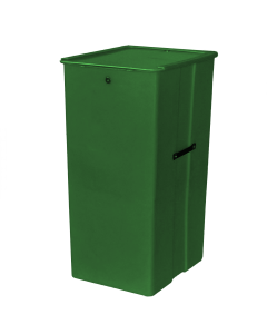 "Myton 23.5"" x 20"" x 41"" Smooth Wall Container Medium Duty Green"