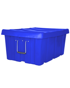 "Myton 31"" x 22"" x 15"" Ribbed Wall Container Heavy Duty Blue"