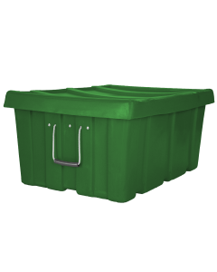 "Myton 31"" x 22"" x 15"" Ribbed Wall Container Heavy Duty Green"