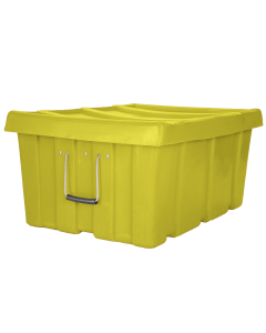 "Myton 31"" x 22"" x 15"" Ribbed Wall Container Heavy Duty Yellow"