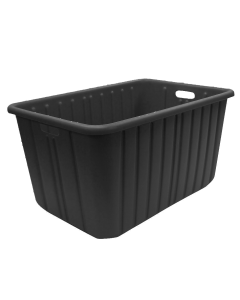 Plastic Tote-All Boxes 28 X 19 X 15 Black