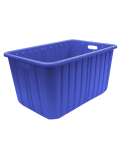 Plastic Tote-All Boxes 28 X 19 X 15 Blue