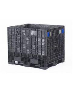 """General Purpose Container 40"""" x 48"""" x 39""""  STR N/VENT 2 Door BLK"""