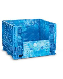 """Heavy Duty 48"""" X 45"""" X 34"""" Container, Vented Deck, Doors on 48"""" Sides"""