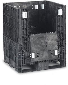 "Heavy Duty Bulk Container 32"" x 30"" x 34"", Doors on 32"" Sides"