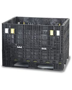 "Heavy Duty Bulk Container 40"" x 48"" x 39"", Doors on 48"" Sides"