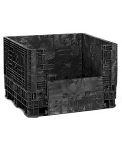 "Heavy Duty Bulk Container 48"" X 45"" X 34"", Vented Deck, Doors on 48"" Sides - 1,750 Lbs. Capacity"