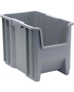 "Quantum Giant Stack Container  Gray 17-1/2"" x 10-7/8"" x 12-1/2"""