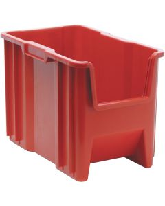 "Quantum Giant Stack Container  Red 17-1/2"" x 10-7/8"" x 12-1/2"""