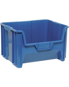 "Quantum Giant Stack Container  Blue 15-1/4"" x 19-1/8"" x 12-7/16"""
