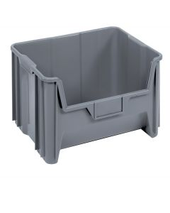 """Quantum Giant Stack Container  Gray 15-1/4"""" x 19-1/8"""" x 12-7/16"""""""
