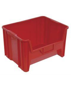 "Quantum Giant Stack Container  Red 15-1/4"" x 19-1/8"" x 12-7/16"""