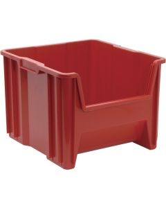 "Quantum Giant Stack Container  Red 17-1/2"" x 16-1/2"" x 12-1/2"""