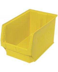 "Quantum Open Hopper Magnum Bins 19-3/4"" x 12-3/8"" x 11-7/8"" Yellow"
