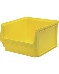 "Quantum Open Hopper Magnum Bins 19-3/4"" x 18-3/8"" x 11-7/8"" Yellow"