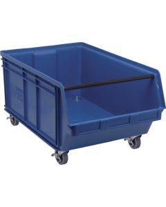 """Quantum Mobile Magnum Bin 29"""" x 18-3/8"""" x 14-7/8"""" Blue"""