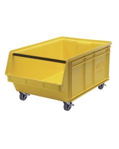 """Quantum Mobile Magnum Bin 29"""" x 18-3/8"""" x 14-7/8"""" Yellow"""