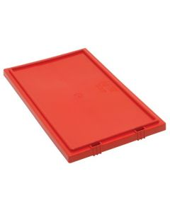 Quantum Red Lid for Stack and Nest Totes QU-SNT180 and QU-SNT185
