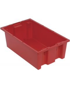 "Quantum Stack and Nest Tote 18"" x 11"" x 6"" Red"