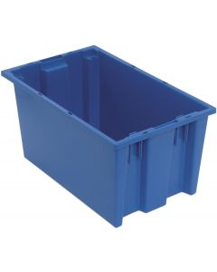 "Quantum Stack and Nest Tote 18"" x 11"" x 9"" Blue"