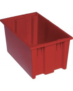 "Quantum Stack and Nest Tote 18"" x 11"" x 9"" Red"