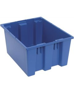 "Quantum Stack and Nest Tote 19-1/2"" x 15-1/2"" x 10"" Blue"