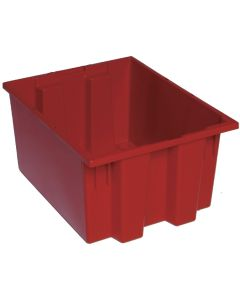 "Quantum Stack and Nest Tote 19-1/2"" x 15-1/2"" x 10"" Red"