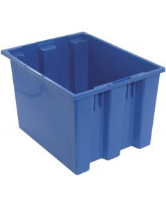 "Quantum Stack and Nest Tote 19-1/2"" x 15-1/2"" x 13"" Blue"