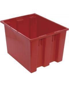 "Quantum Stack and Nest Tote 19-1/2"" x 15-1/2"" x 13"" Red"