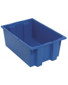 "Quantum Stack and Nest Tote 19-1/2"" x 13-1/2"" x 8"" Blue"