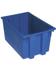 "Quantum Stack and Nest Tote 23-1/2"" x 15-1/2"" x 12"" Blue"