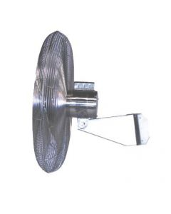 "Airmaster Stainless Steel Food Service Air Circulator 20"" Propeller Diameter Wall Model"