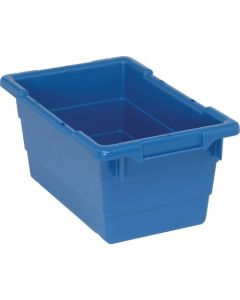 "Cross Stack Tub Blue 17-1/4"" x 11"" x 8"""