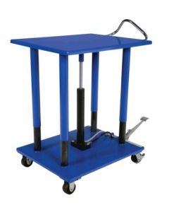 "Vestil Manual Hydraulic Post Table 30"" W x 36"" L, 4000 lb capacity"