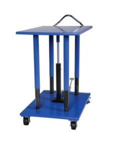 "Vestil Manual Hydraulic Post Table 30"" W x 42"" L, 4000 lb capacity"