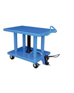 "Vestil Manual Hydraulic Post Table 24"" W x 36"" L, 6000 lb capacity"